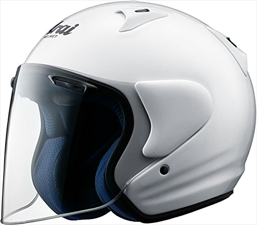 ARAI アライ ジェットヘルメット SZ-LIGHT (SZ ライト) ホワイト XXSサイズ 51-53cm
