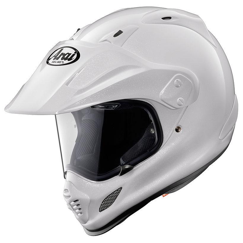 ARAI アライ オフロードヘルメット TOUR-CROSS 3 (ツアー クロス 3) グラスホワイト Mサイズ 57-58cm