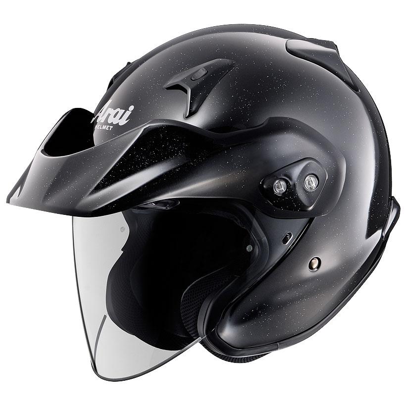 ARAI ジェットヘルメット CT-Z グラスブラック XSサイズ 54cm