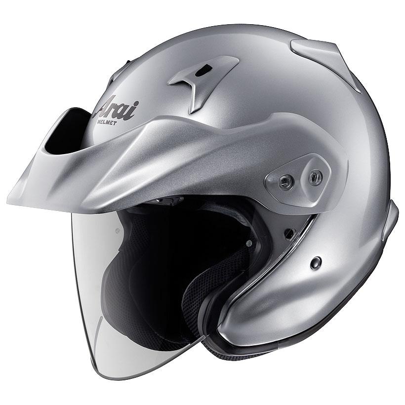 ARAI アライ ジェットヘルメット CT-Z (シーティーゼット) アルミナシルバー Lサイズ 59-60cm
