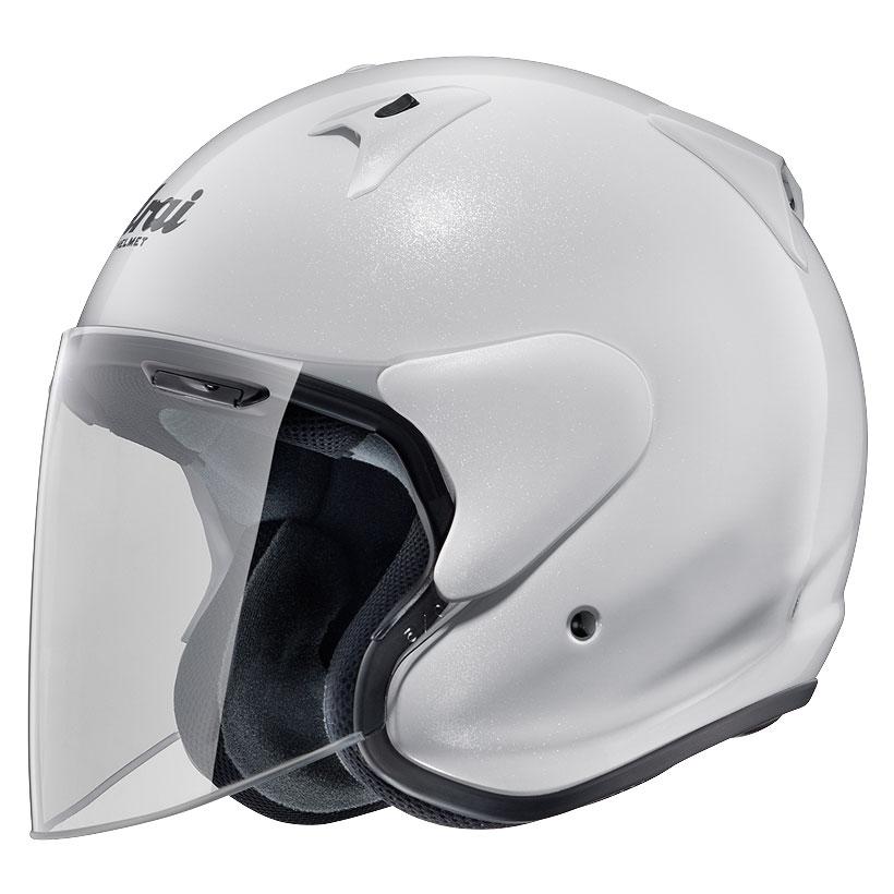 ARAI アライ ジェットヘルメット SZ-G (エスゼット ジー) グラスホワイト XLサイズ 61-62cm