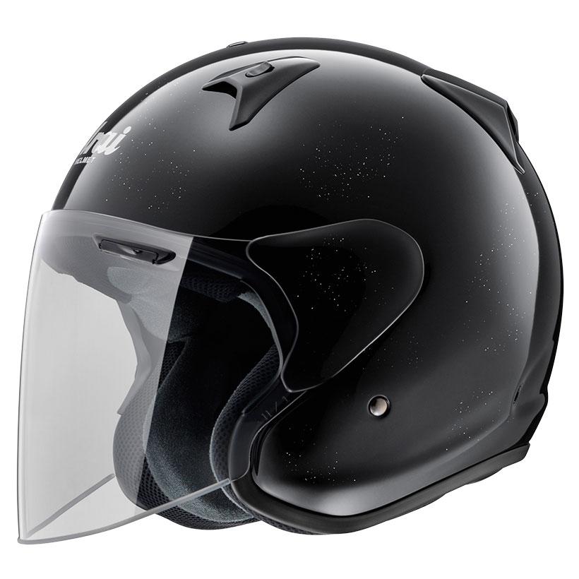 ARAI アライ ジェットヘルメット SZ-G (エスゼット ジー) グラスブラック Lサイズ 59-60cm