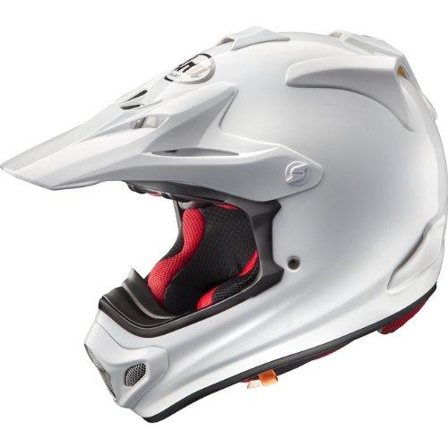 ARAI アライ オフロードヘルメット V-CROSS 4 (Vクロス 4) ホワイト Mサイズ 57-58cm