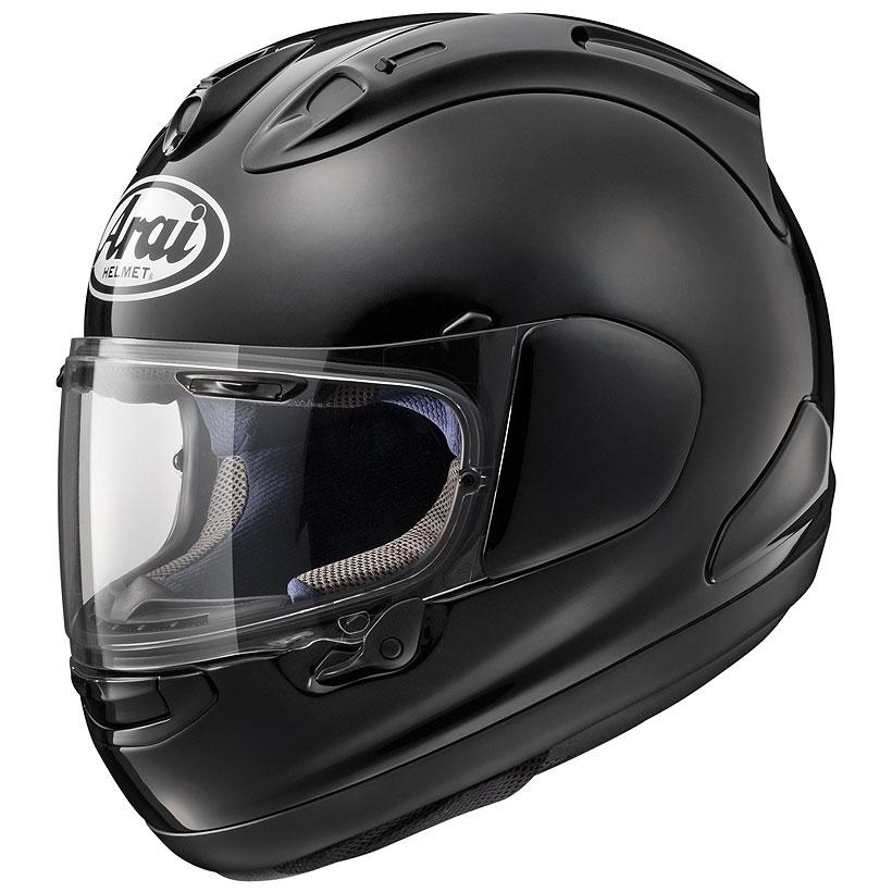 【動画あり】 ARAI フルフェイスヘルメット RX-7X ブラスブラック Lサイズ 59-60cm