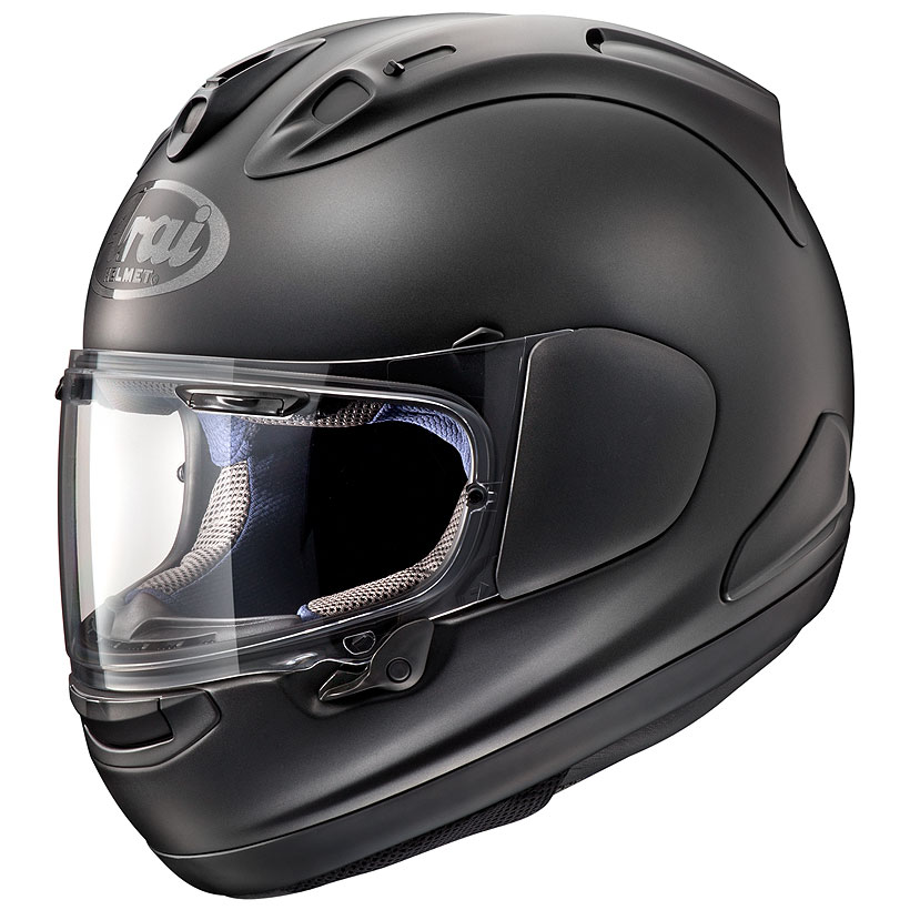 【動画あり】 ARAI フルフェイスヘルメット RX-7X フラットブラック Lサイズ 59-60cm