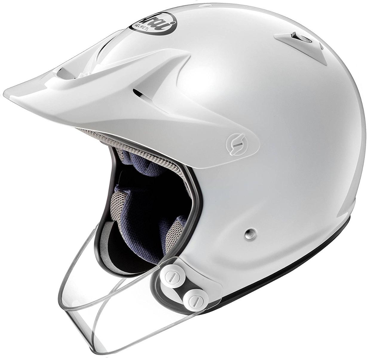 ARAI アライ オフロードヘルメット HYPER-T PRO (ハイパー T プロ) ホワイト Mサイズ 57-58cm