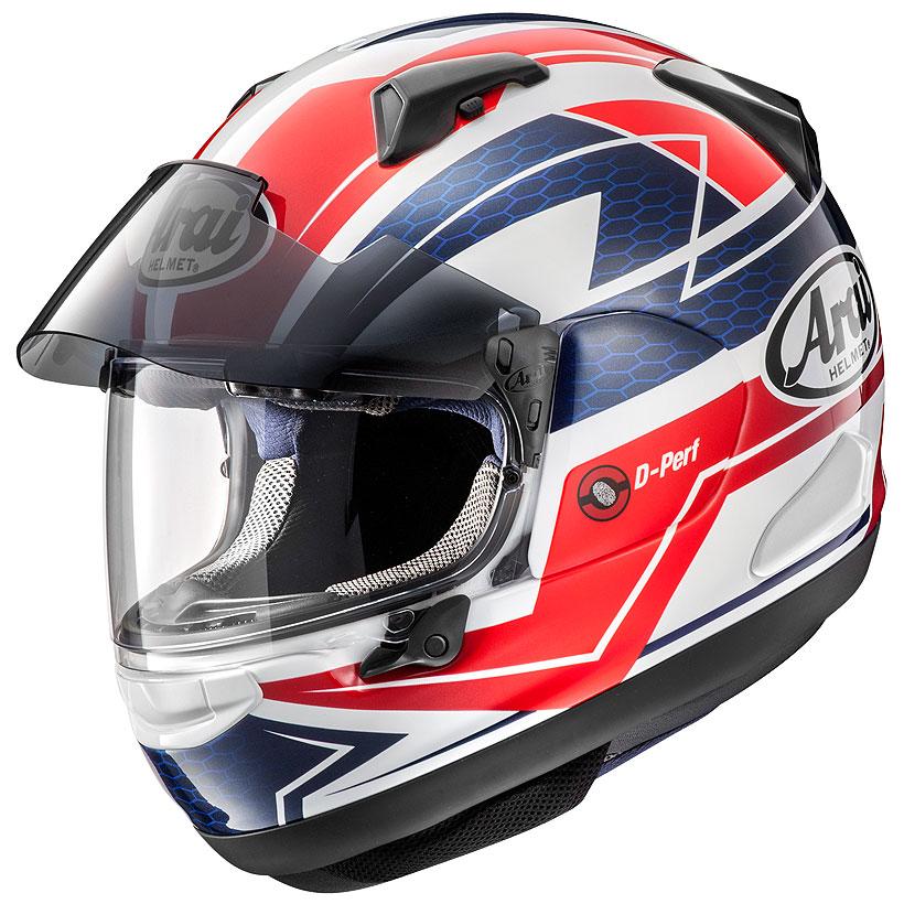 【動画あり】 ARAI フルフェイスヘルメット ASTRAL-X CURVE (カーブ) レッド XSサイズ 54cm