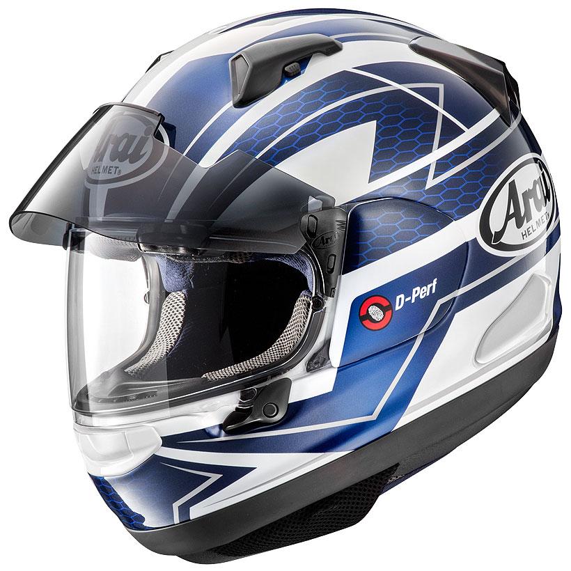 ARAI アライ フルフェイスヘルメット ASTRAL-X (アストラル エックス) CURVE (カーブ) ブルー Lサイズ 59-60cm