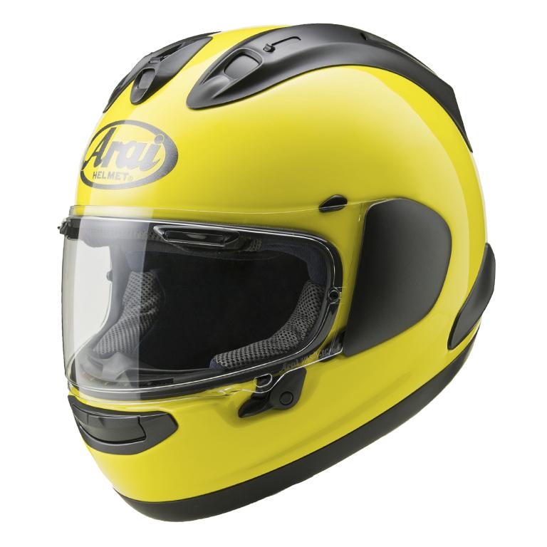 【動画あり】 ARAI フルフェイスヘルメット RX-7X マックスイエロー Lサイズ 59-60cm