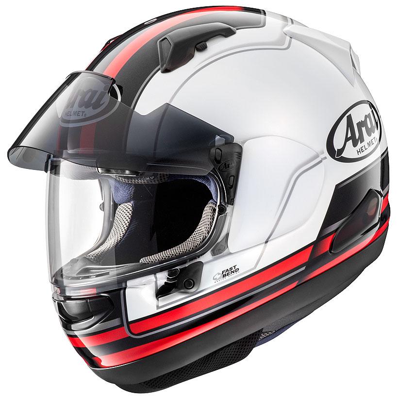 【動画あり】 ARAI フルフェイスヘルメット ASTRAL-X STINT (スティント) レッド Lサイズ 59-60cm