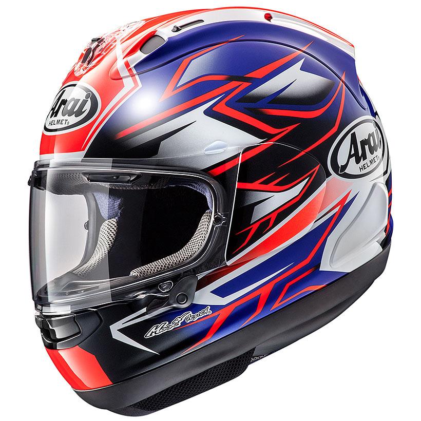 ARAI アライ フルフェイスヘルメット RX-7X RX7X (アールエックス セブンエックス) GHOST (ゴースト) ブルー Mサイズ 57-58cm