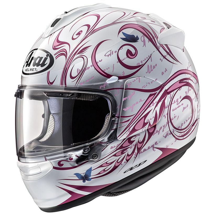 ARAI アライ フルフェイスヘルメット VECTOR-X (ベクター X) STYLE (スタイル) ピンク Lサイズ 59-60cm