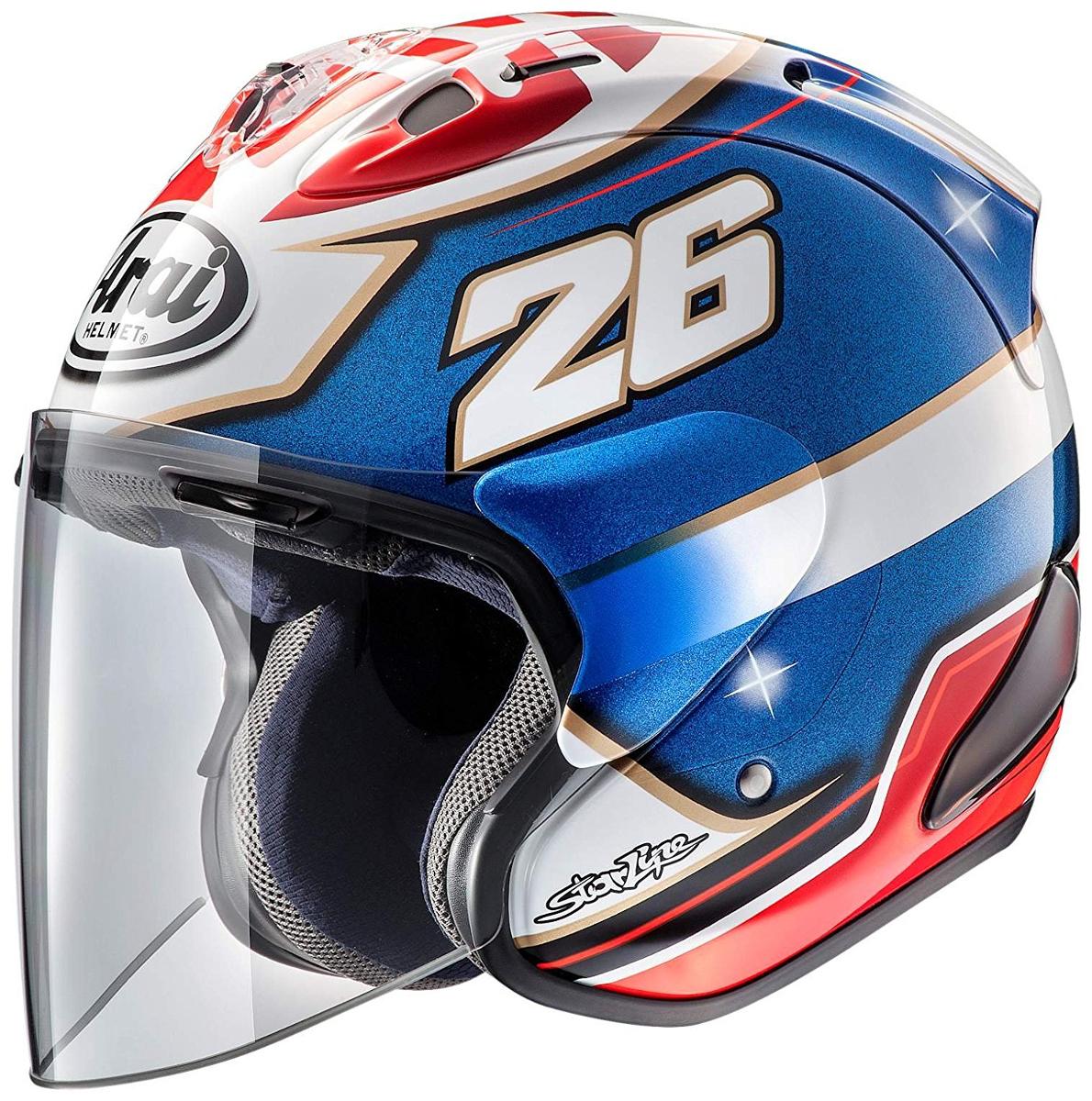 ARAI ジェットヘルメット SZ-RAM4X PEDROSA SAMURAI (ペドロサ サムライ) XSサイズ 54cm