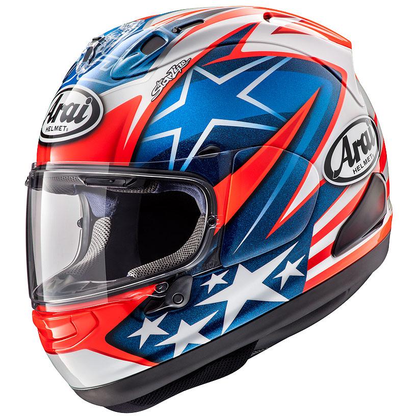 ARAI アライ フルフェイス ヘルメット サーキット motogp sbk RX-7X ARAI アライ フルフェイスヘルメット RX-7X RX7X (アールエックス セブンエックス) HAYDEN SB (ヘイデンSB) XLサイズ 61-62cm