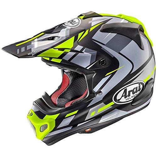 ARAI アライ helmet ヘルメット オフロード V-CROSS 4 BOGLE ボーグル ARAI アライ オフロードヘルメット V-CROSS 4 (Vクロス 4) BOGLE (ボーグル) イエロー Mサイズ 57-58cm