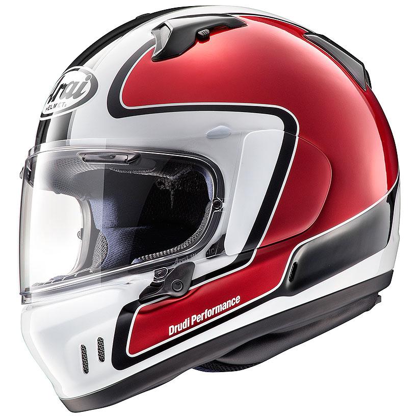 【動画あり】 ARAI フルフェイスヘルメット XD OUTLINE (アウトライン) レッド XLサイズ 61-62cm
