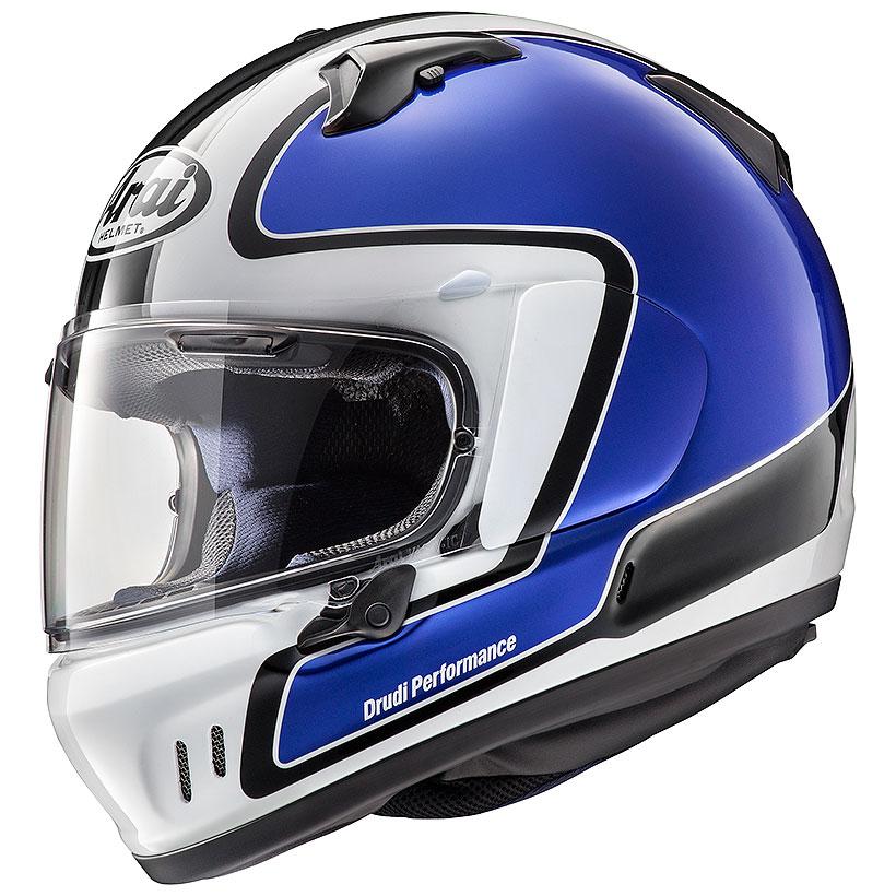 【動画あり】 ARAI フルフェイスヘルメット XD OUTLINE (アウトライン) ブルー Lサイズ 59-60cm