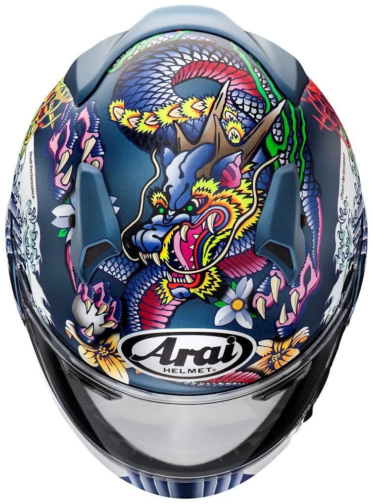 ARAI フルフェイスヘルメット XD ORIENTAL (オリエンタル) ブルー XLサイズ 61-62cm