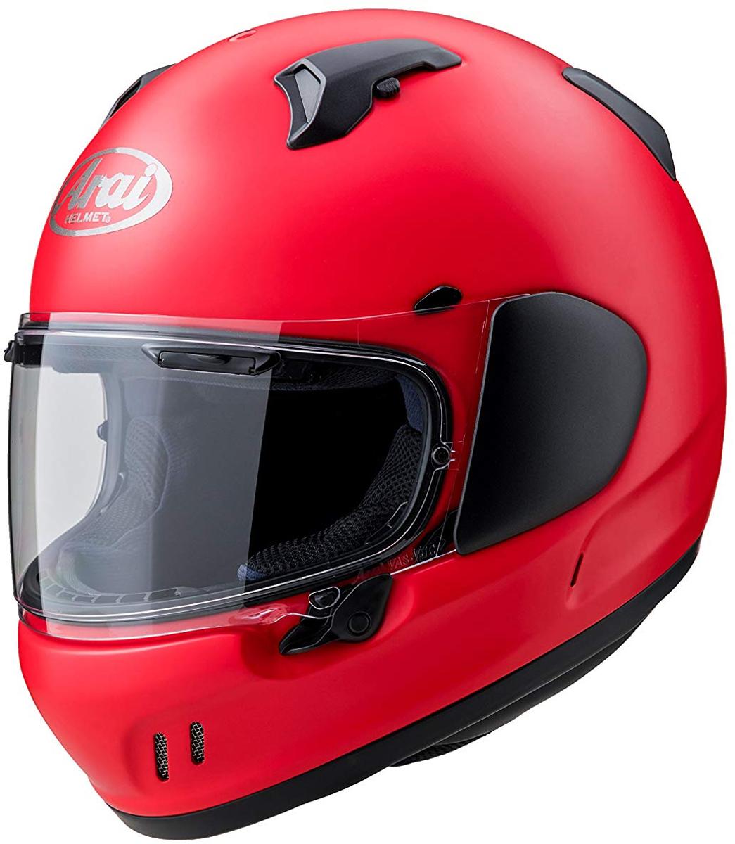 ARAI フルフェイスヘルメット XD フラットレッド/ブラック Sサイズ 55-56cm