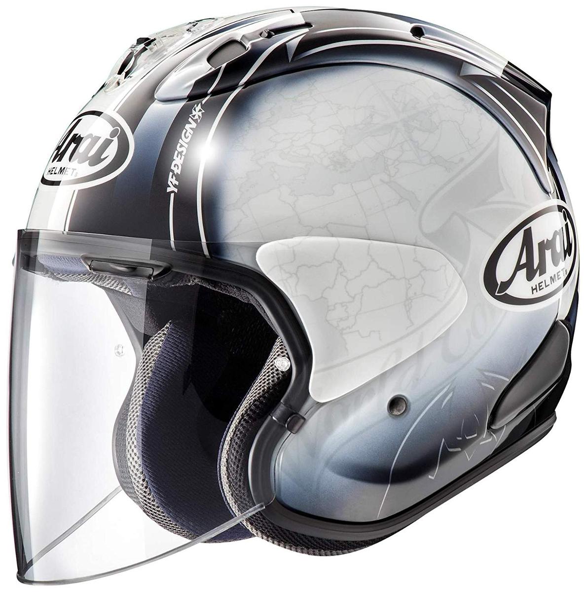 【超特価】 ARAI ARAI アライ ジェットヘルメット VZ-RAM 61-62cm (ブイゼット ラム) HARADA TOUR TOUR (ハラダ・ツアー) ホワイト XLサイズ 61-62cm, アンシャンブル:7e7e37c1 --- essexadvan.co.uk