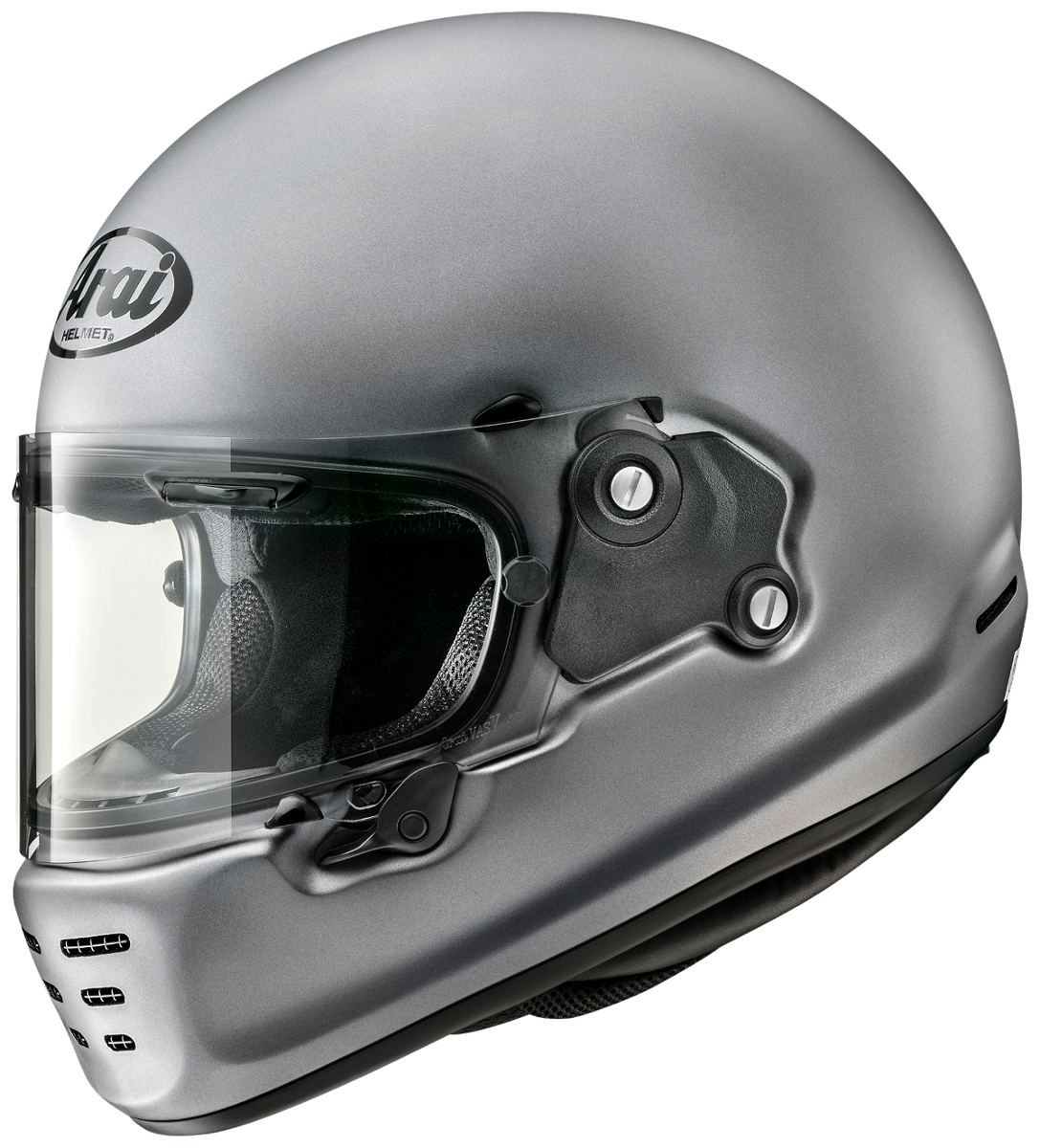 ARAI アライ フルフェイスヘルメット RAPIDE NEO プラチナグレーフラット (ラパイド ネオ) Mサイズ 57-58cm