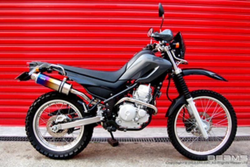 BEAMS (ビームス) バイク用 マフラー SEROW250FI BA-DG11J SS 300 チタン アップタイプ フルエキ フルエキゾースト マフラー B216-09-003