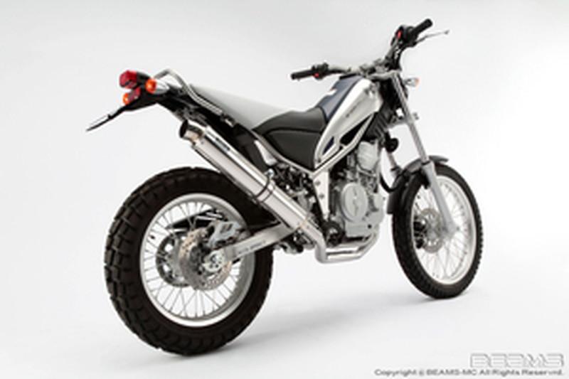 BEAMS (ビームス) バイク用 マフラー TRICKER FI JBK - DG16J フルエキ フルエキゾースト R-EVO ステンレスサイレンサー B223-53-008