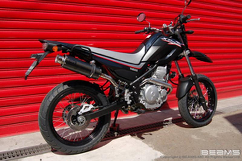 BEAMS (ビームス) バイク用 マフラー XT250X JBK-DG17J SS 300 カーボン アップタイプ フルエキ フルエキゾースト マフラー B225-08-003