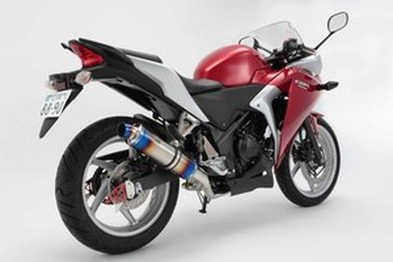 R-EVO D143-53-S1S バイク用 マフラー JBK-MC41 ~2013 マフラー 公道走行不可 フルエキ BEAMS (ヒートチタンサイレンサー) フルエキゾースト (ビームス) CBR250R