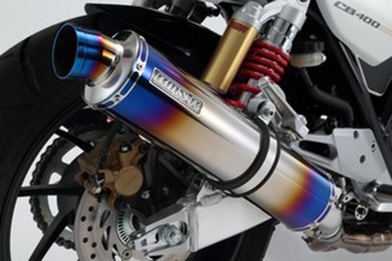 BEAMS (ビームス) バイク用 マフラー CB400SF VTEC REVO '07~'17 EBL-NC42 R-EVO スリップオン ヒートチタンサイレンサー 政府認証 22年騒音規制対応 G106-53-P1J