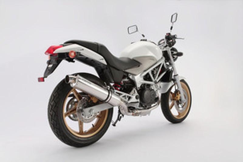 BEAMS (ビームス) バイク用 マフラー VTR250 JBK-MC33 R-EVO フルエキ フルエキゾースト マフラー (ステンレスサイレンサー) JMCA JMCA認定品 D107-53-S6J
