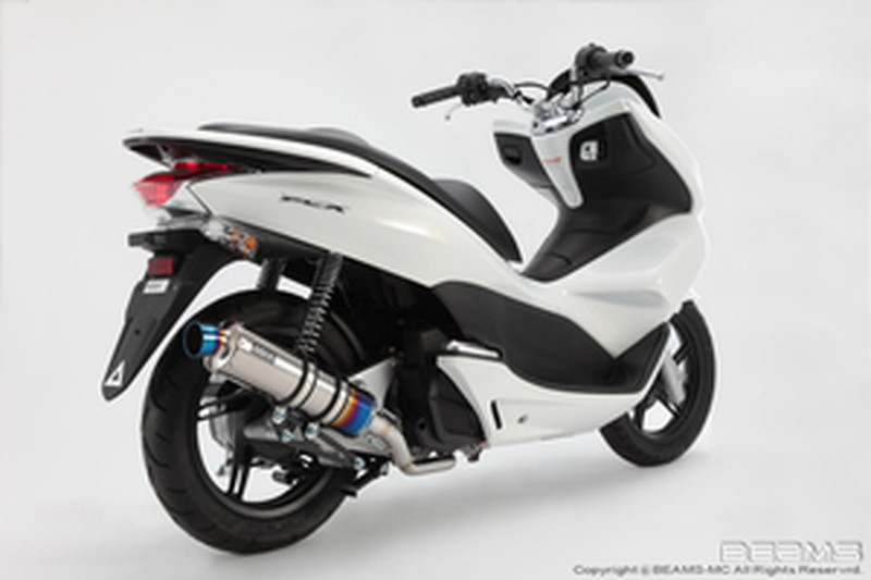 BEAMS (ビームス) バイク用 マフラー PCX125後期 / EBJ - JF28 フルエキ フルエキゾースト R-EVO チタンサイレンサーSP 22年騒音規制対応 G144-53-007