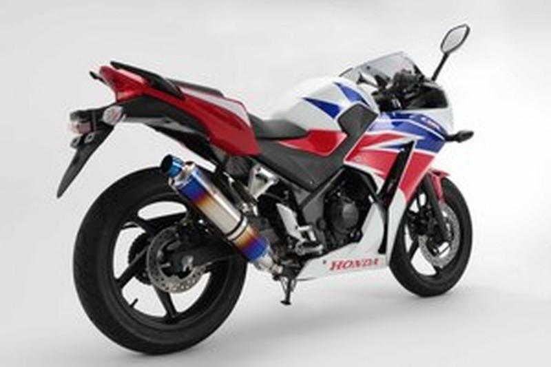 BEAMS (ビームス) バイク用 マフラー CBR250R 2014~ JBK-MC41 R-EVO スリップオン ヒートチタンサイレンサー 政府認証 22年騒音規制対応 G167-53-P1J