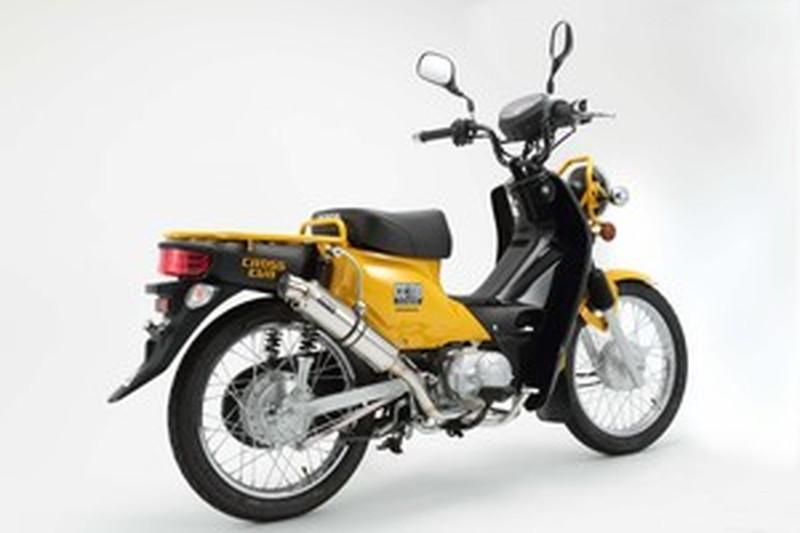 BEAMS (ビームス) バイク用 マフラー CROSS CUB EBJ - JA10 フルエキ フルエキゾースト R-EVO ステンレスサイレンサーSP 22年騒音規制対応 G168-53-008