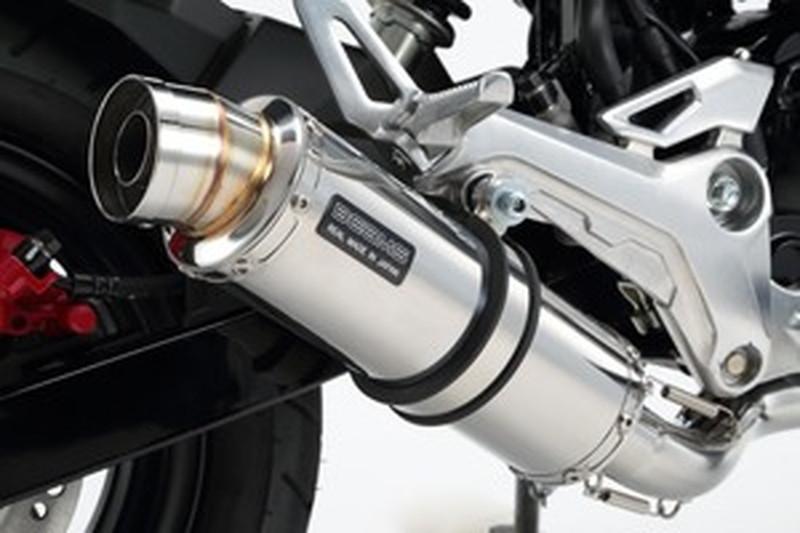 BEAMS (ビームス) バイク用 マフラー グロム2016 EBJ - JC61 / 2BJ - JC75 フルエキ フルエキゾースト R-EVO ステンレスサイレンサー 政府認証 22年騒音規制対応 G175-53-008