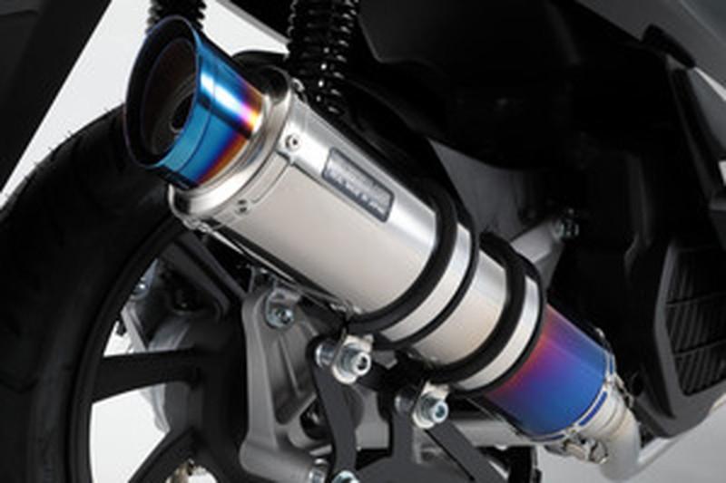 BEAMS (ビームス) バイク用 マフラー PCX150 2018~ フルエキ フルエキゾースト R-EVO 2 ヒートチタンサイレンサー 政府認証 22年騒音規制対応 G180-54-007