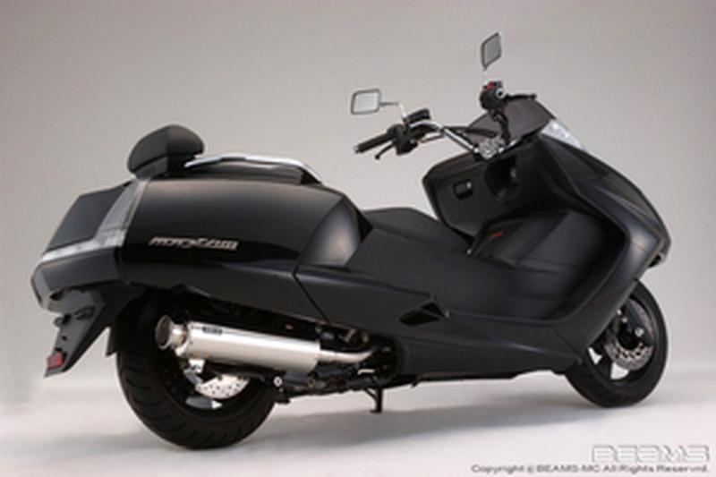 BEAMS (ビームス) バイク用 マフラー マグザム JBK - SG21J フルエキ フルエキゾースト SS 400 ソニック SP 政府認証 22年騒音規制対応 G218-10-000