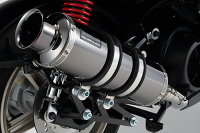 BEAMS (ビームス) バイク用 マフラー シグナスX 2016~ EBJ - SEA5J / 2BJ - SED8J フルエキ フルエキゾースト SS 300 SMB SP政府認証 22年騒音規制対応 G241-05-000