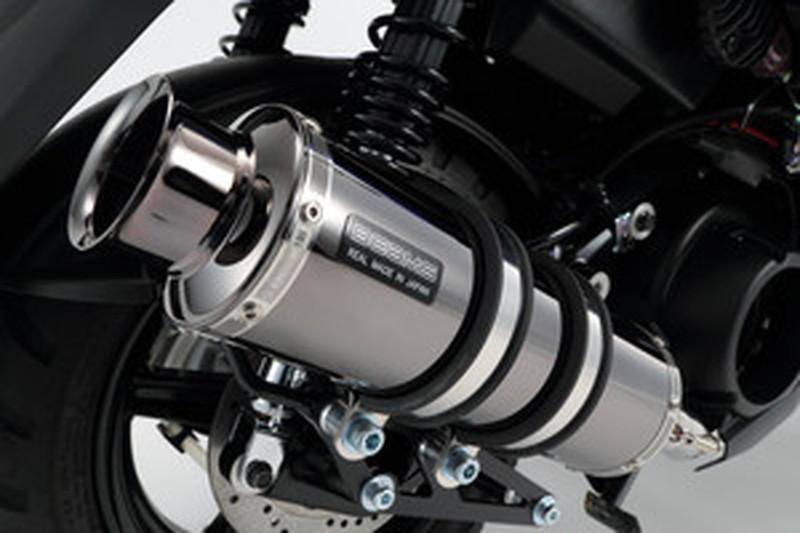 BEAMS (ビームス) バイク用 マフラー BW's125 2016~ EBJ - SEA6J フルエキ フルエキゾースト SS 300 SMB SP政府認証 22年騒音規制対応 G243-05-000