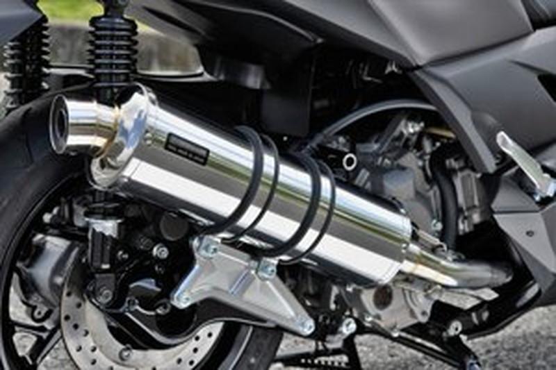 BEAMS (ビームス) バイク用 マフラー X - MAX 2BK - SG42J フルエキ フルエキゾースト R-EVO ステンレスサイレンサー 政府認証 22年騒音規制対応 G259-53-008