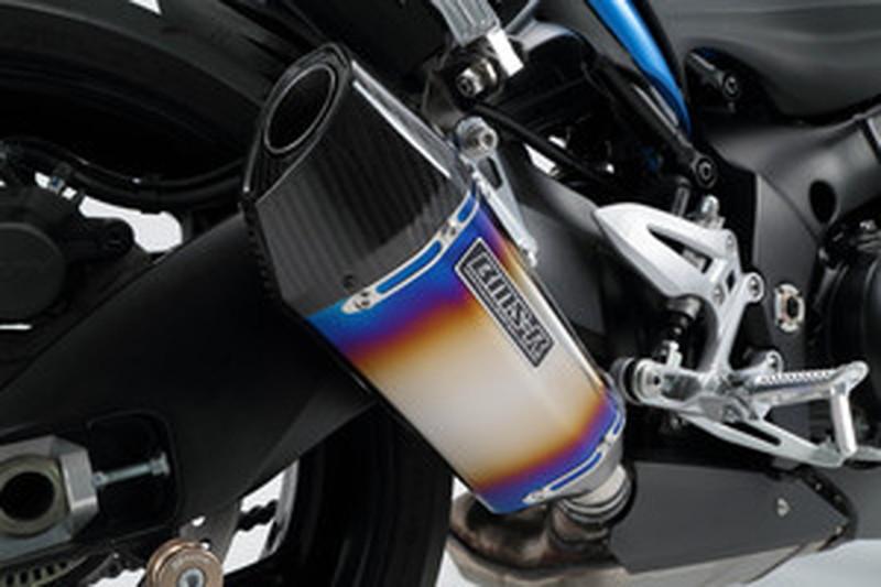 BEAMS (ビームス) バイク用 マフラー GSX-S1000/F CORSA-EVOヒートチタン スリップオン 政府認証 22年騒音規制対応 G334-64-P2J