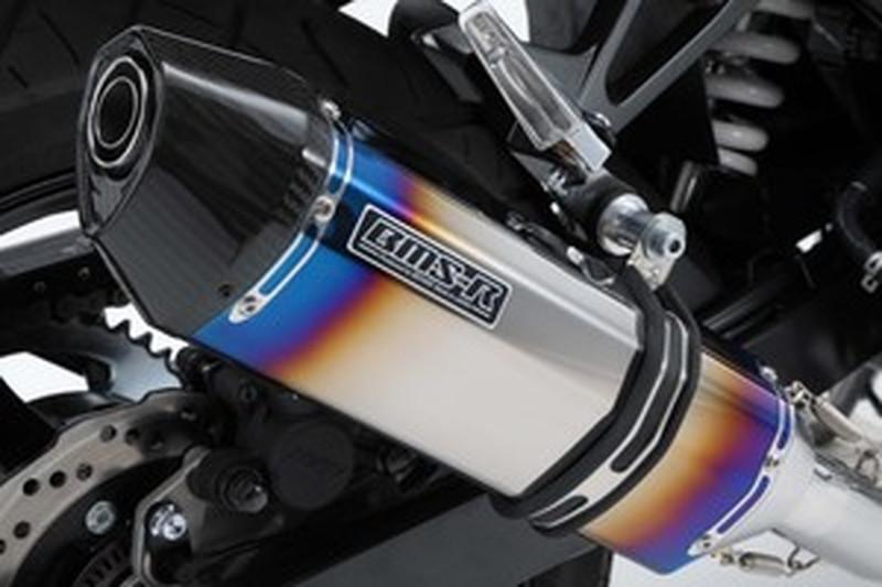 BEAMS (ビームス) バイク用 マフラー GSX250R CORSA-EVO スリップオン ヒートチタン 政府認証 22年騒音規制対応 G335-65-P6J