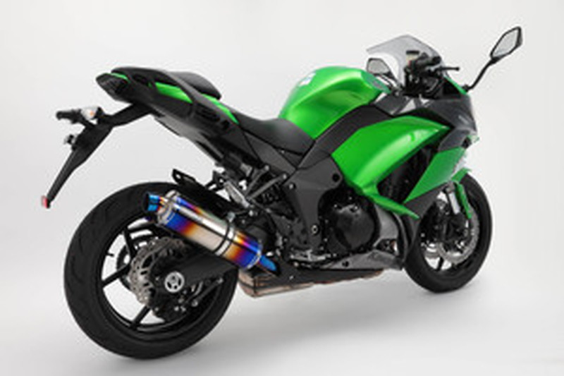 BEAMS (ビームス) バイク用 マフラー Ninja1000 2017~ T-EVO スリップオンW ヒートチタンサイレンサー 政府認証 22年騒音規制対応 G426-53-P1J