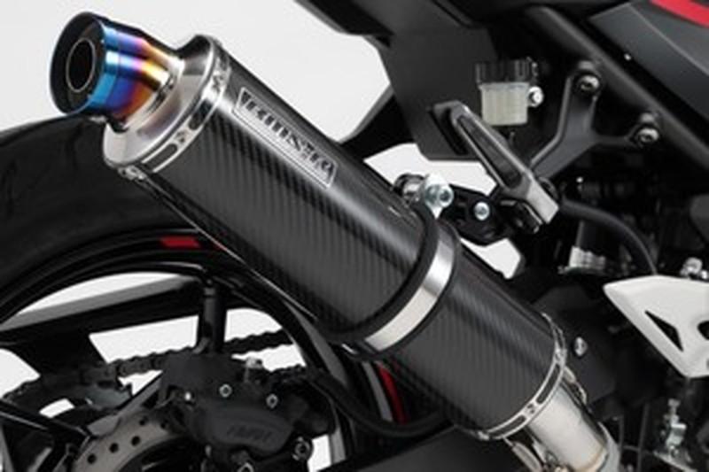BEAMS (ビームス) バイク用 マフラー NINJA250 2018~ 2BK-EX250P R-EVO スリップオン カーボンサイレンサー JMCA認定/政府認証品 G430-53-P2J
