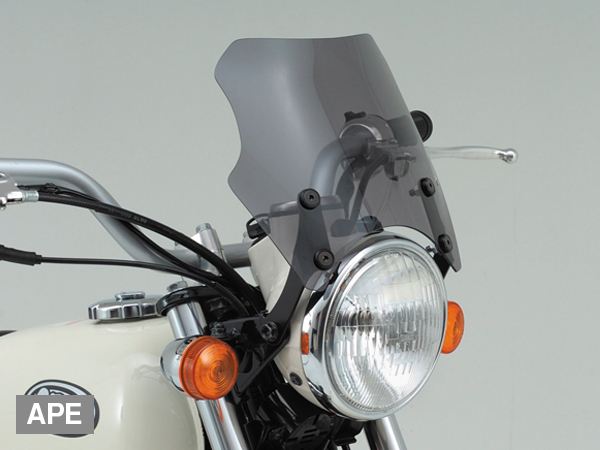 DAYTONA (デイトナ) バイク用 カウルスクリーン Blast Barrier(ブラストバリア)Mini APE用 71882