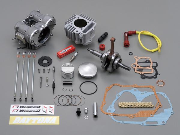 Daytona(デイトナ) フィンガーフォロアーDOHC ボア&ストロークアップキット(124.8cc) 75012