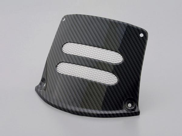 DAYTONA (デイトナ) バイク用 カウルカバー エンジンヘッドアクセスカバー アドレスV125用 PC製カーボンシート 75767
