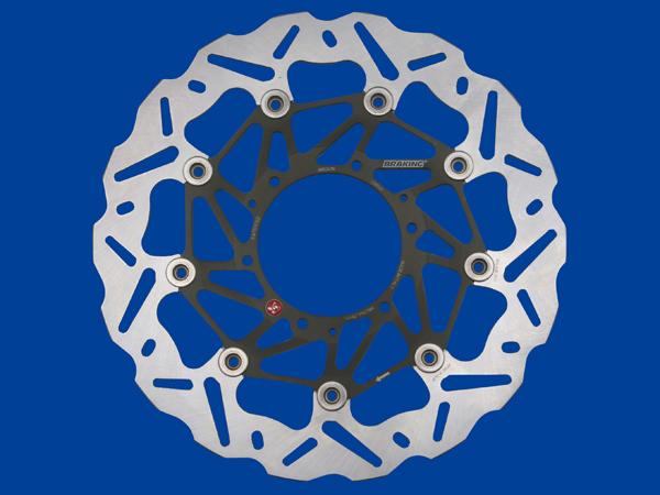 DAYTONA (デイトナ) バイク用 ブレーキング ディスクローター BRAKING ディスクローター WK047R 76545