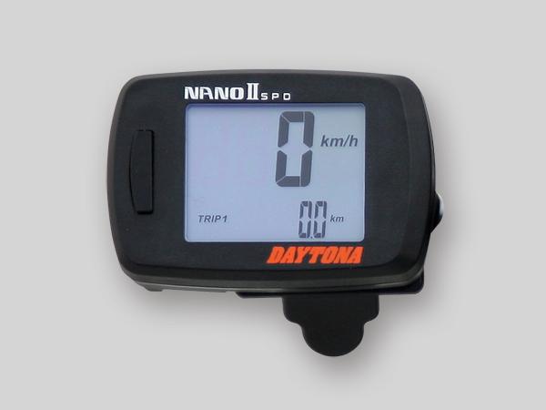 DAYTONA (デイトナ) バイク用 その他計器類 NANO デジタルスピードメーター 78596