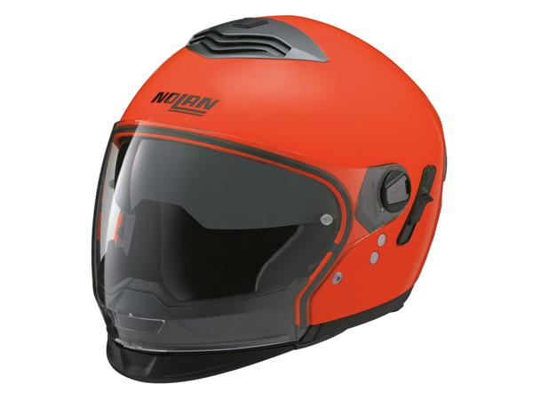 DAYTONA (デイトナ) バイク用 ヘルメット システム NOLAN (ノーラン) N43E Trilogy ハイビィジリティー 蛍光オレンジ/13 Mサイズ 78763